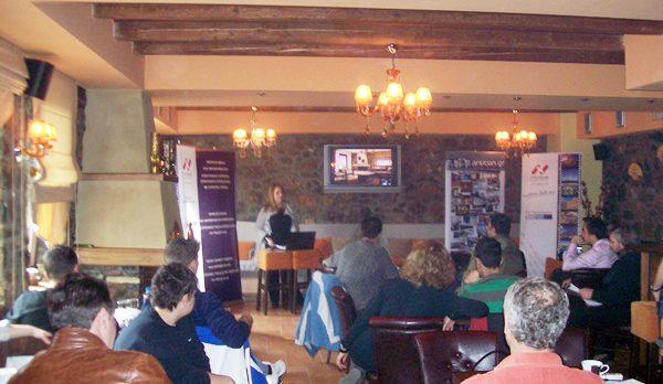 Workshops for tourism professionals