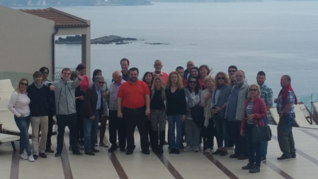 Fam trip to the area of Epirus – April 2016