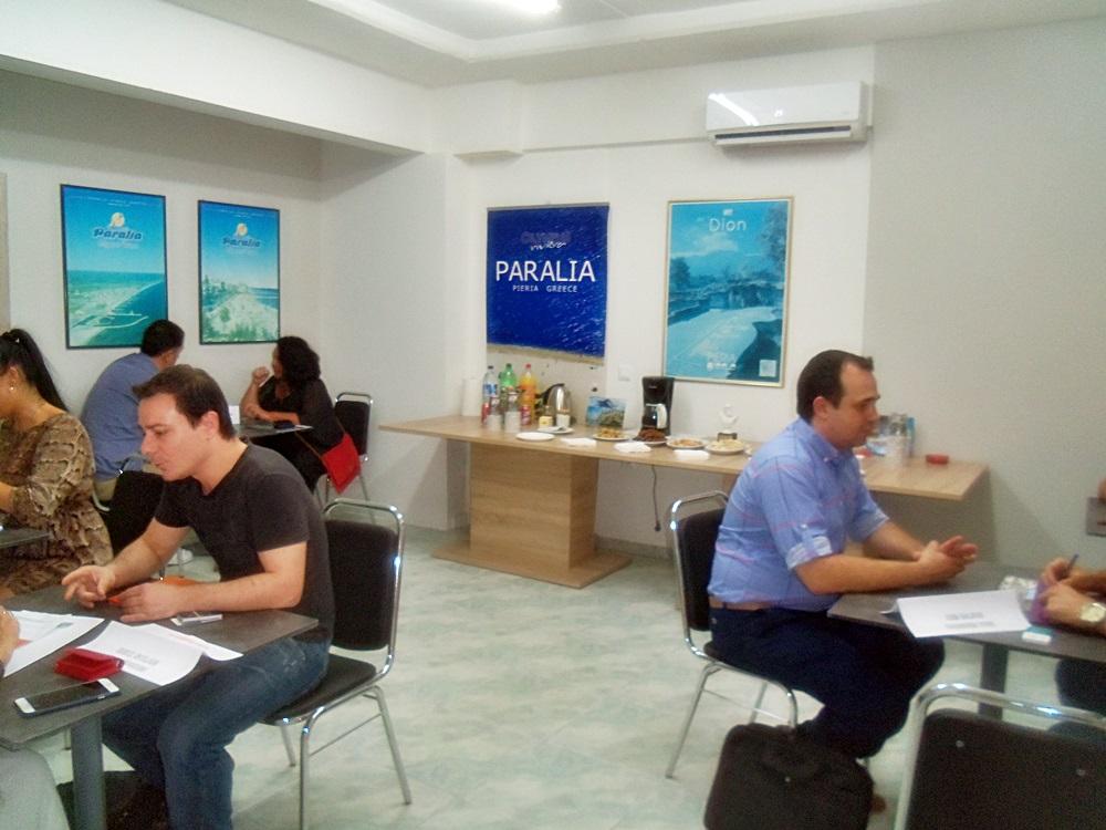 FAM TRIP TO PARALIA – PIERIA – GREECE  SEPTEMBER 2017