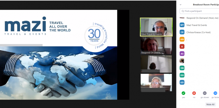VIRTUAL B2B TRAVEL & MICE EVENT WITH TOUR OPERATORS, TAVEL AGENTS & MICE ORGANIZERS FROM SEVERAL COUNTRIES