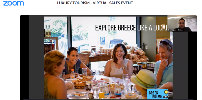 Luxury Tourism – Virtual Sales Event, USA and Europe